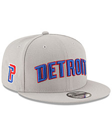 New Era Detroit Pistons Statement Jersey Hook 9FIFTY Snapback Cap