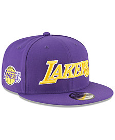 New Era Los Angeles Lakers Statement Jersey Hook 9FIFTY Snapback Cap