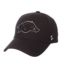 Zephyr Arkansas Razorbacks Black & White Competitor Cap