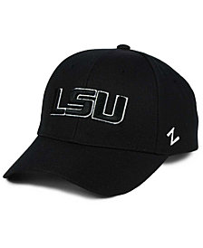 Zephyr LSU Tigers Black & White Competitor Cap