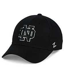 Zephyr Notre Dame Fighting Irish Black & White Competitor Cap