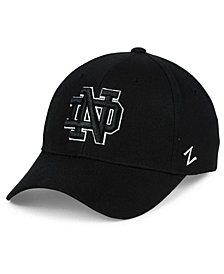 Zephyr Notre Dame Fighting Irish Black & White Competitor Cap