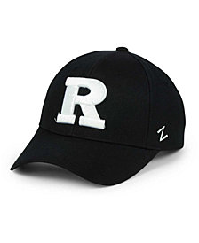 Zephyr Rutgers Scarlet Knights Black & White Competitor Cap