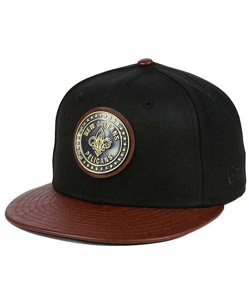 New Era New Orleans Pelicans Butter Badge 9FIFTY Snapback Cap