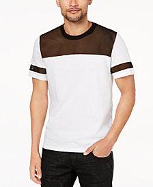 I.N.C. Men's Mesh Insert T-Shirt, Created for Macy's