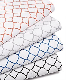 CLOSEOUT! Printed Geo Sheet Sets, 500 Thread Count, Created for Macy's