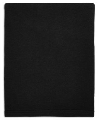 Harrison Black Twin Flat Sheet