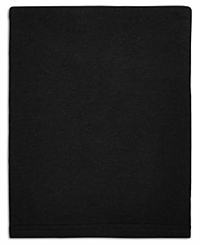 Calvin Klein Modern Cotton Harrison Black Queen Flat Sheet