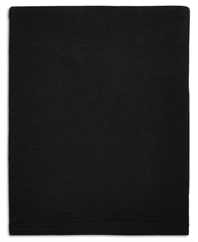 Calvin Klein Modern Cotton Harrison Black King Flat Sheet