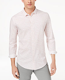 Calvin Klein Men's Abstract Printed Shirt