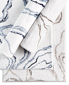 Hotel Collection Marble Tufted Bath Rugs, Created for Macy's