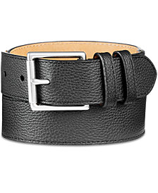 Cole Haan Men's Pebble Leather Belt