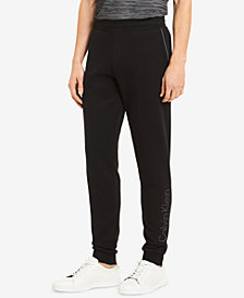 Calvin Klein Men's Logo-Print Sweatpants