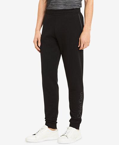Calvin Klein Men's Logo-Print Sweatpants