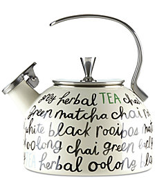kate spade new york All in Good Taste Piping Hot Tea Kettle