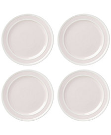 kate spade new york All in Good Taste 4-Pc. Sculpted Stripe Blush Dinner Plate Set