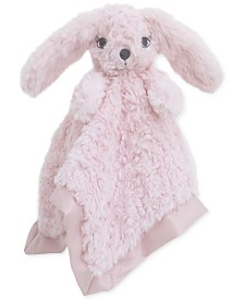Cuddle Me Luxury Plush Security Blanket Pink Bunny