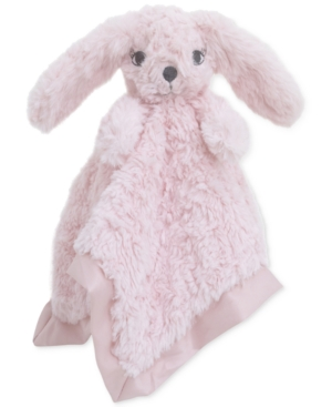 Cuddle Me Luxury Plush Security Blanket Pink Bunny Bedding