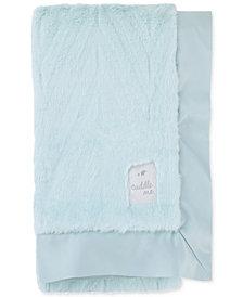 Cuddle Me Plush Chevron Blanket
