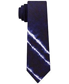 Tommy Hilfiger Men's Indigo Stripe Skinny Tie