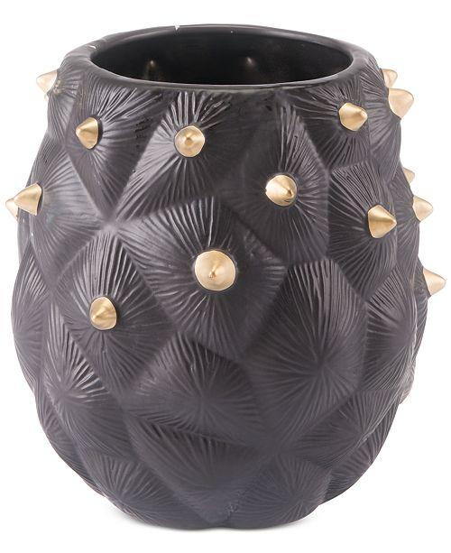 Zuo Black Cactus Small Vase
