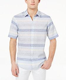 Club Room Men's Merritt Stripe Shirt, Created for Macy's