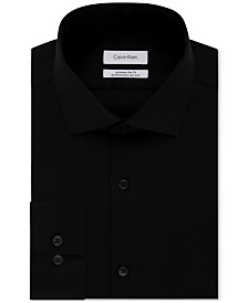 Calvin Klein Men's X Extra-Slim Fit Tall Performance Non-Iron Dress Shirt