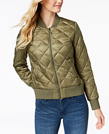 32 Degrees Packable Down Bomber Coat