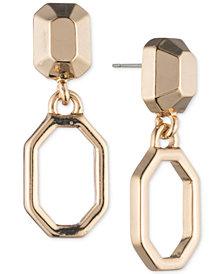 Ivanka Trump Geometric Open Drop Earrings
