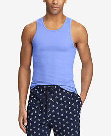 Polo Ralph Lauren Men's Classic Fit Tank Tops, 3-Pack
