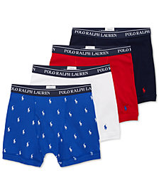 Polo Ralph Lauren Men's 3+1 Bonus Pack Boxer Briefs