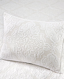 Martha Stewart Collection Gilded Age 100% Cotton Quilted Standard Sham, Created for Macy's