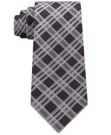 Kenneth Cole Reaction Men's Jonathan Plaid Silk Tie