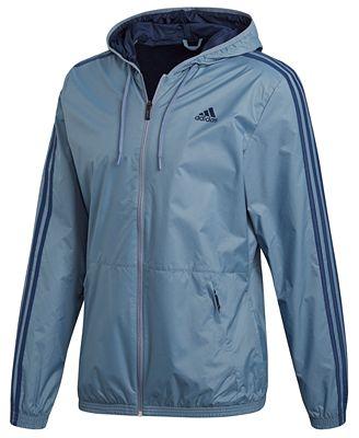 Adidas uomini incappucciati vestiti & giacche a vento più uomini