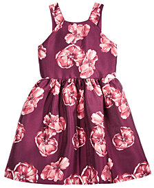 Crystal Doll Floral Arcadia Party Dress, Big Girls