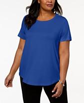 50b8ef3c6fb Plus Size T Shirts  Shop Plus Size T Shirts - Macy s