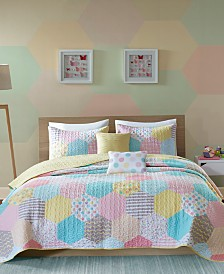 Urban Dreams Trixie 4-Pc. Twin/Twin XL Coverlet Set
