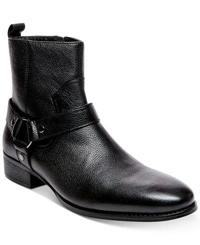 Steve Madden Men's Palazzo Side-Zip Boots