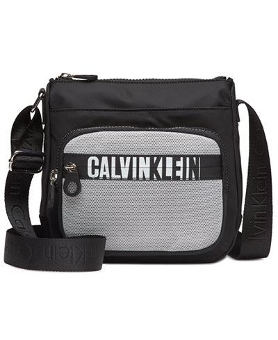 Calvin Klein Athleisure Small Nylon Messenger