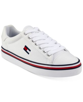 Tommy Hilfiger Womens Fressian Lace-Up Sneakers Womens Shoes