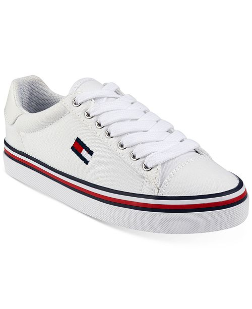 cfc089796 Tommy Hilfiger Women s Fressian Lace-Up Sneakers   Reviews ...