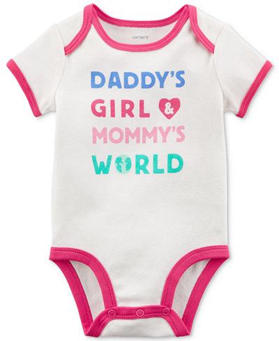 Carter's Graphic-Print Bodysuit, Baby Girls
