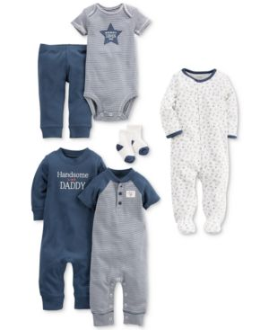 Carter's 9-Pc. Cotton Clothing & Accessories Set, Baby Boys 5745110