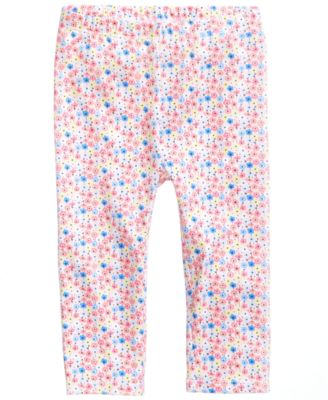 Floral-Print Leggings, Baby Girls, Created for Macy's