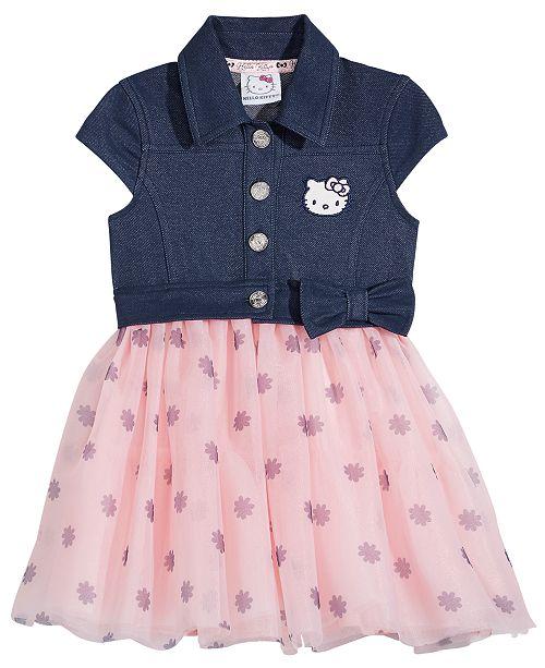 99cd1298e387c Hello Kitty Denim   Tutu Dress