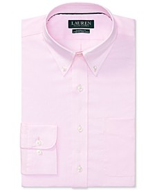 Men's Classic/Regular Fit Non-Iron Stretch Pinpoint Dress Shirt