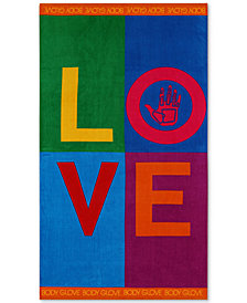 "Body Glove Love Cotton 36"" x 70"" Graphic-Print Beach Towel"