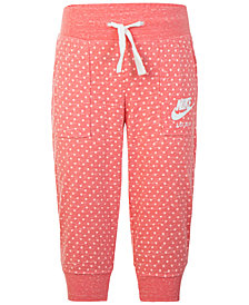 Nike Dot-Print Capri Pants, Toddler Girls