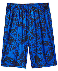 Ideology Splatter-Print Shorts, Big Boys, Created for Macy's