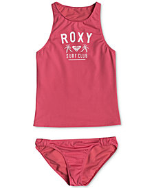 Roxy 2-Pc. Tankini Swimsuit, Big Girls